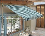 かわいいcafe風オーニング 模様替え インテリア ガーデン デザイン
