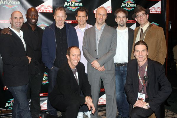 From left to right James Diener (CEO/President, A&M/Octane Records