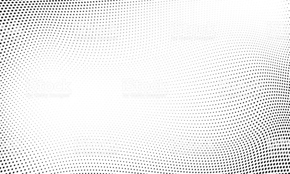 Dot Halftone Pattern Background Vector Abstract Circle Wave Grid Or Halftone Pattern Vector Background Pattern Background Patterns