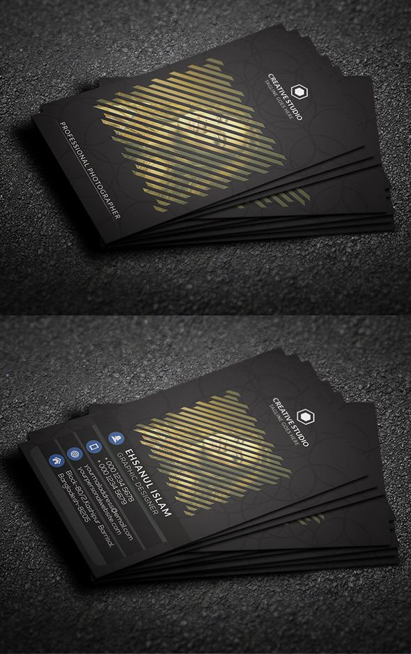 Free Photography Business Card | Business Cards Design | Pinterest ...