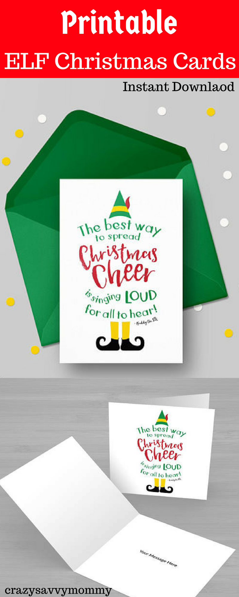Why buy Christmas cards when you can download them instantly!? Super ...