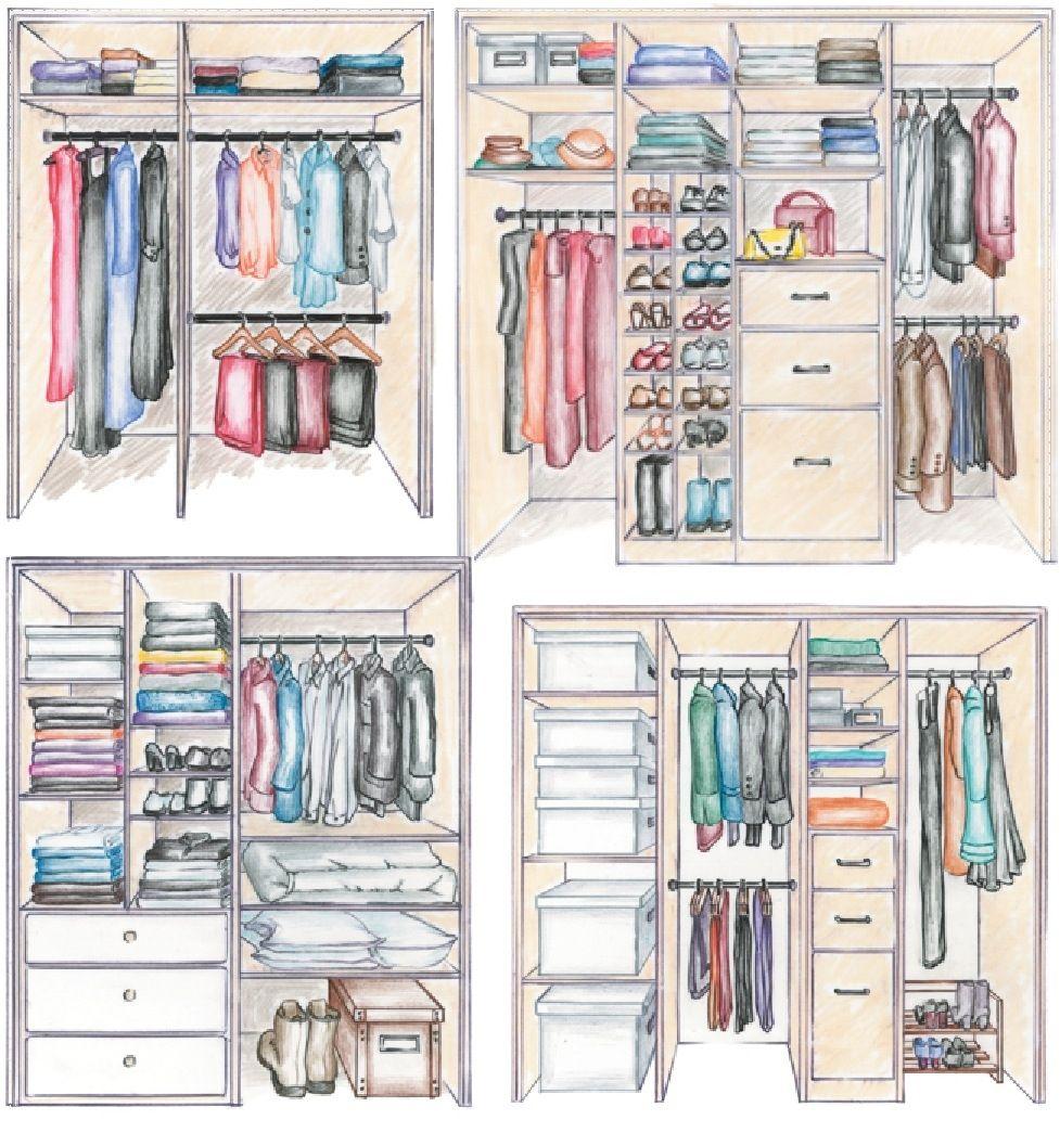 977 1045 closet pinterest armario for Dormitorio y closet