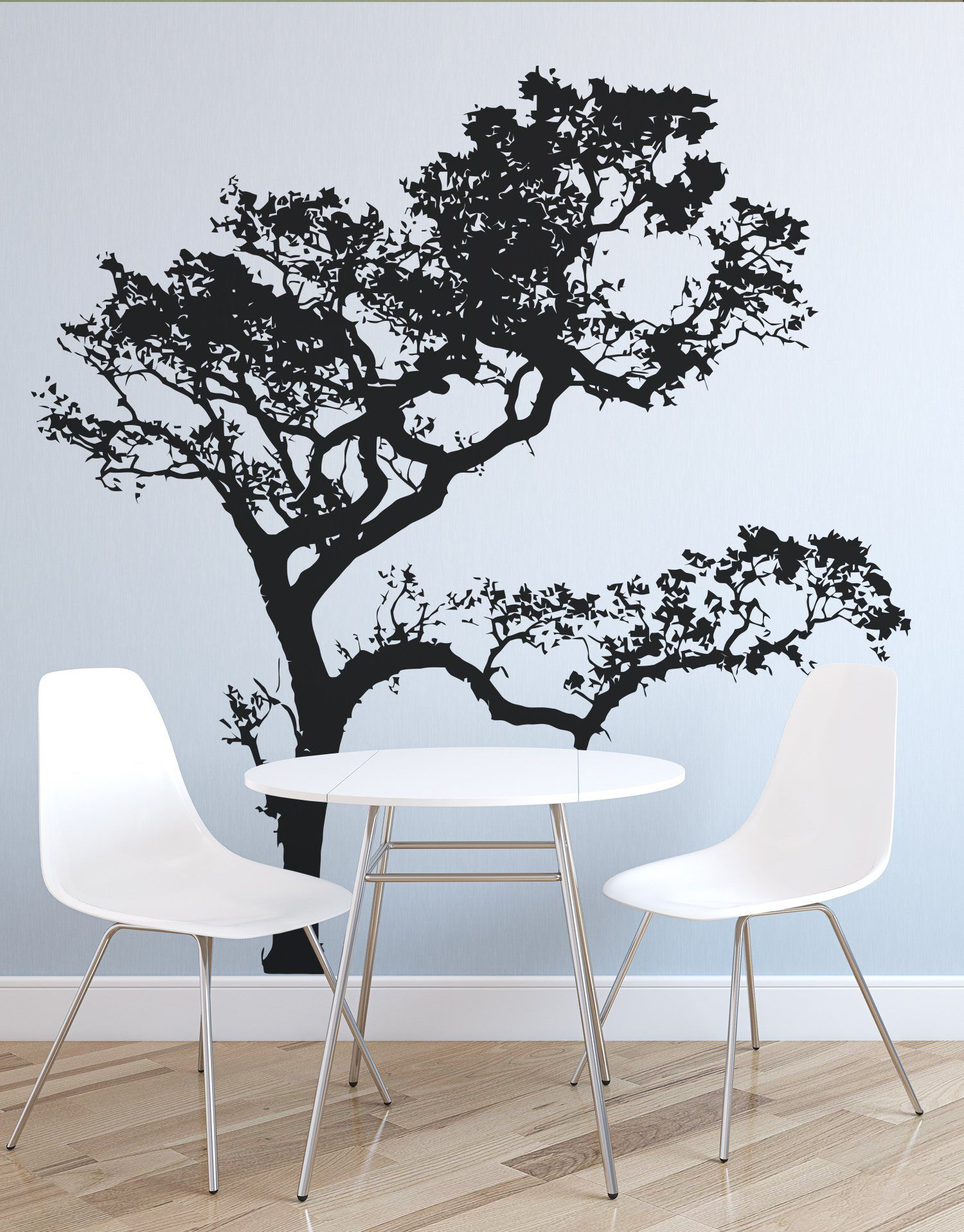 Big Oak Tree Wall Decal. 409 Tree wall, Wall decals