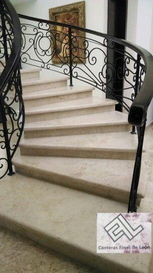 Escalera en marmol marmol y granito pinterest for Escaleras de marmol y granito
