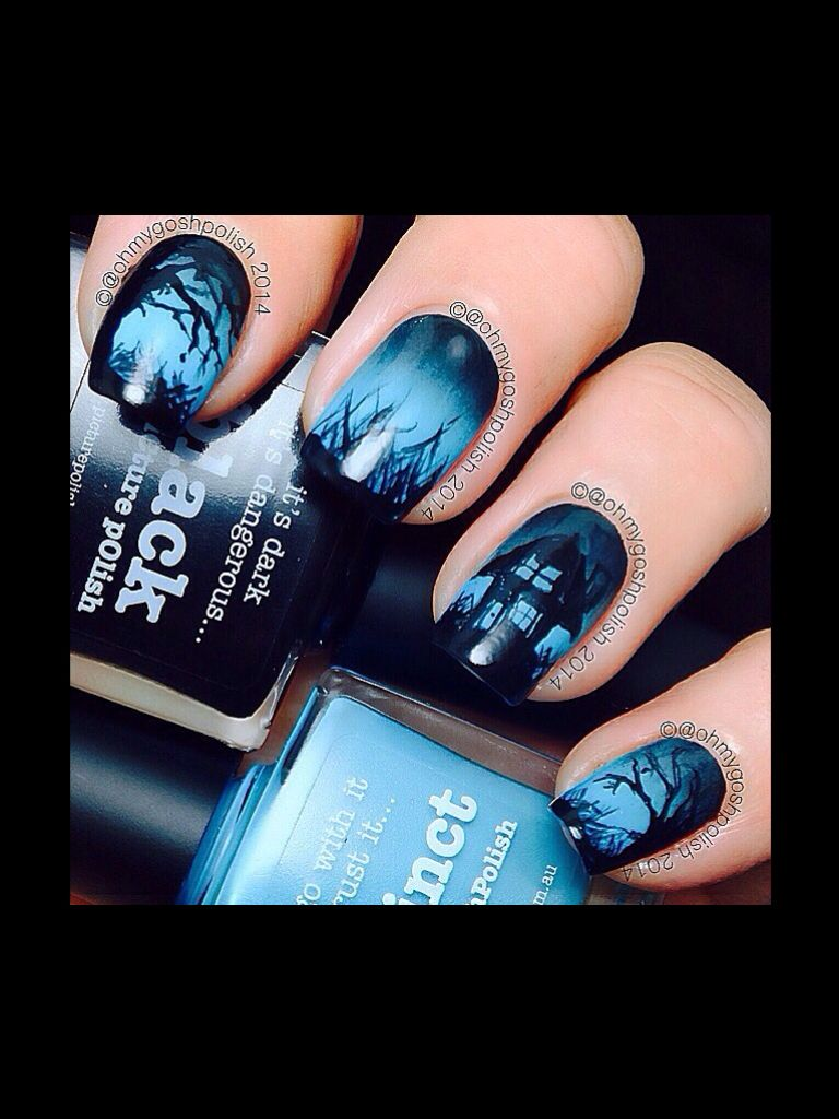 Halloween   Halloween Nail Art   Pinterest   Acrylic nail designs ...