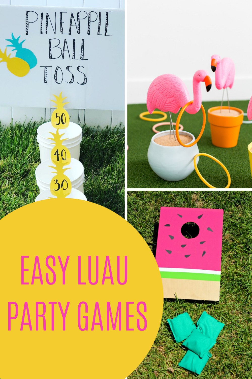 Easy Luau Party Games With Instructions - Peachy Party