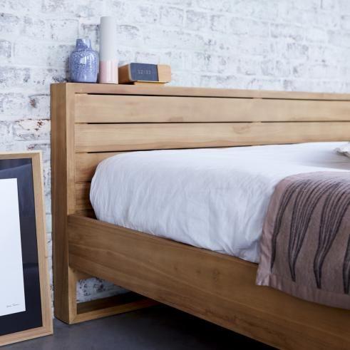 Minimalys Teak Bed 160x200 Bedroom color schemes