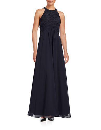 Halter Neck Evening Gown Hudsons Bay Bridesmaid Dresses