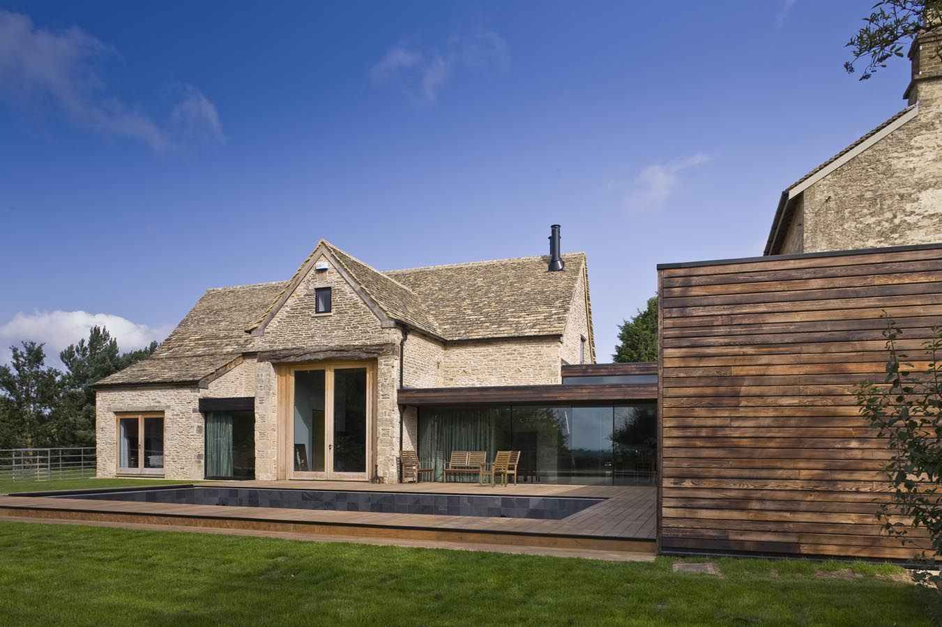 Furzey Hall Farm MS Building & Renovation Cotswold Stone Barn Conversion Barn