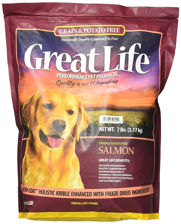 Great Life Grain and Potato Free Dog Food Formula *** Read