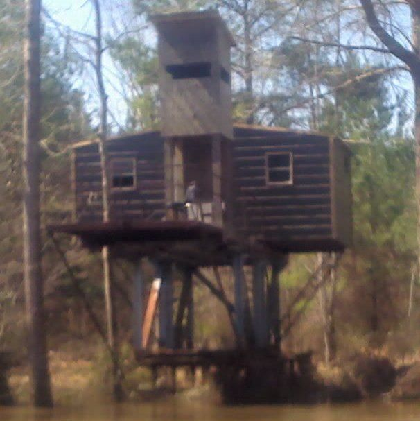 Homemade deer blinds 8 homemade hunting blinds pics for Deer ground blind plans