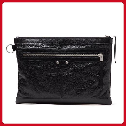 6b243427a3 BALENCIAGA Leather Medium Clutch Bag 273022 - Clutches ( Amazon  Partner-Link)