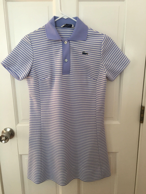 6bf7f78c44c04 Vintage Chemise Lacoste Tennis Dress