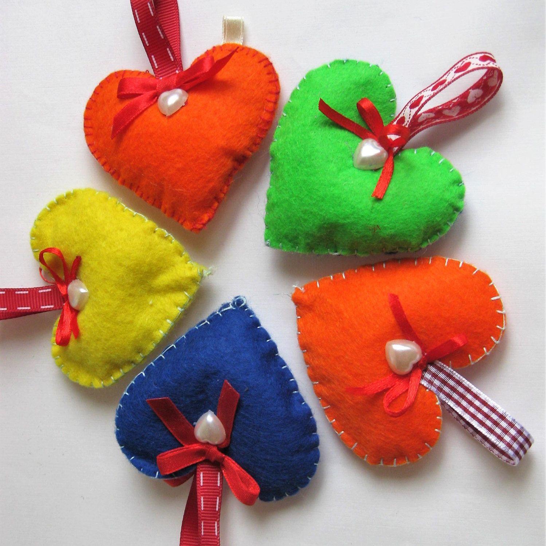Valentine Heart Gift Lover Girls, Boys, Hanging Decor Keys,Christmas Tree,