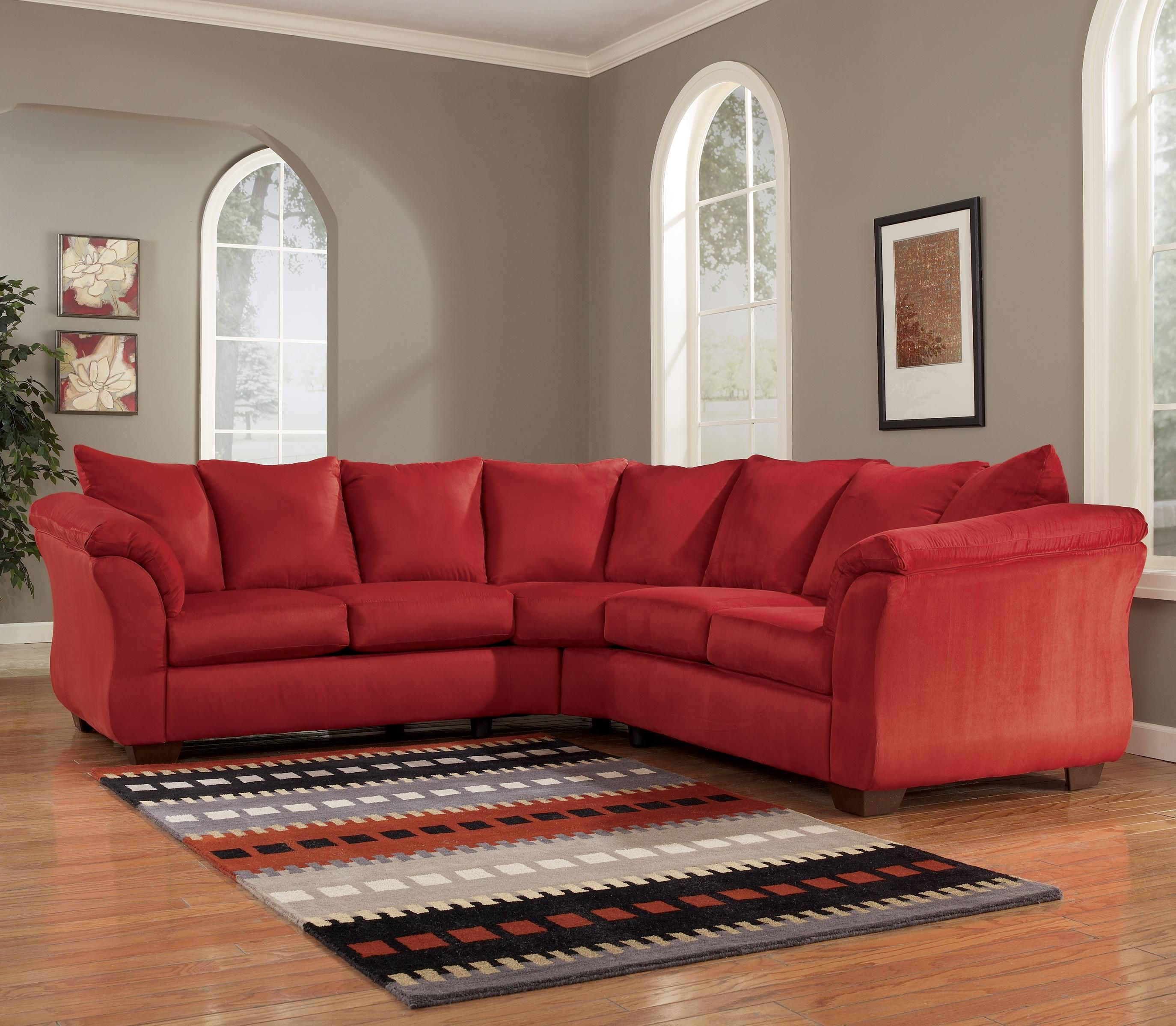Darcy Salsa Sectional Sofa by Signature Design by Ashley
