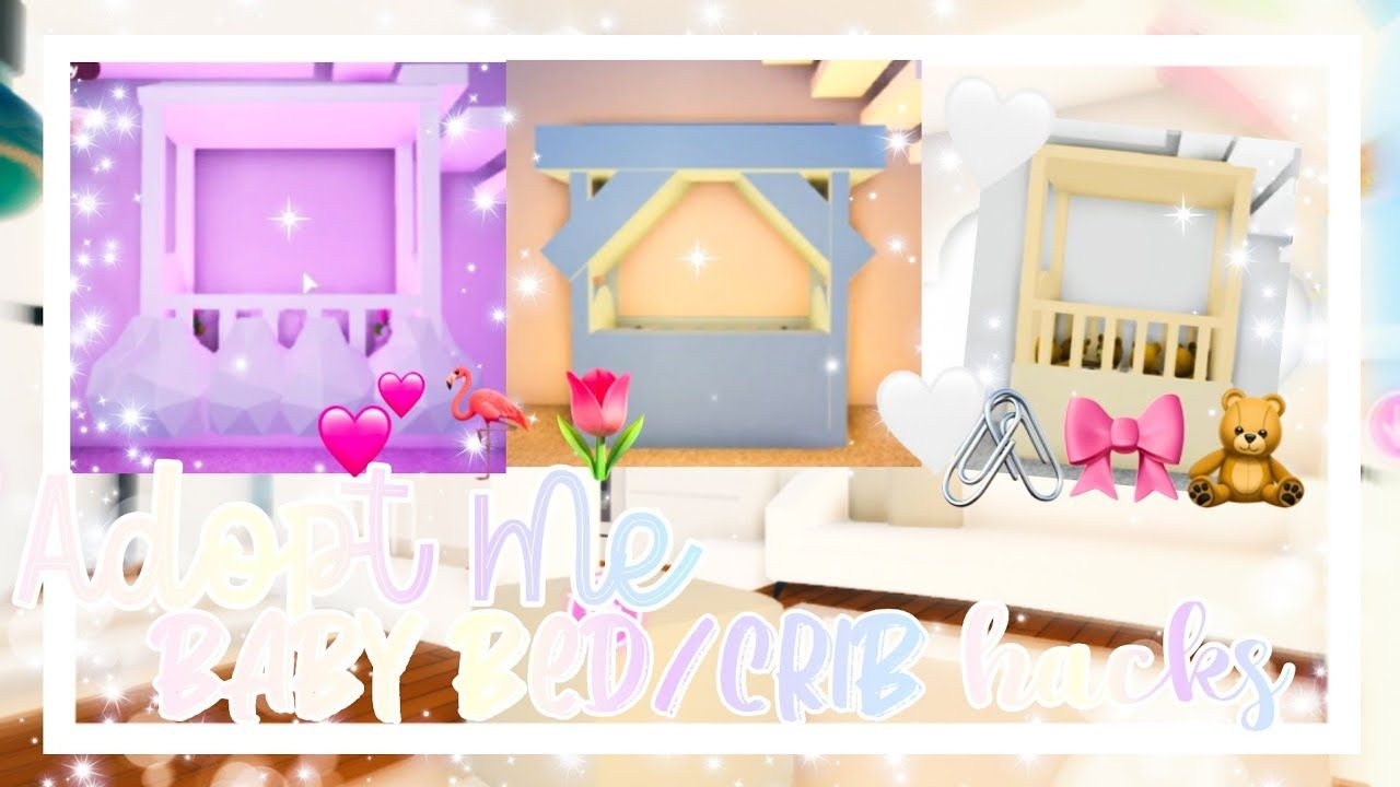 🧸Adopt Me Baby Crib Ideas🧸🤍 ▪︎adopt Me Baby Room Build Hacks▪︎ || Official Pineapples - YouTube | Cute Room Ideas, Simple Bedroom Design, Unique House Design