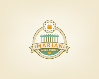 logo, cute. probably wouldn't produce well small