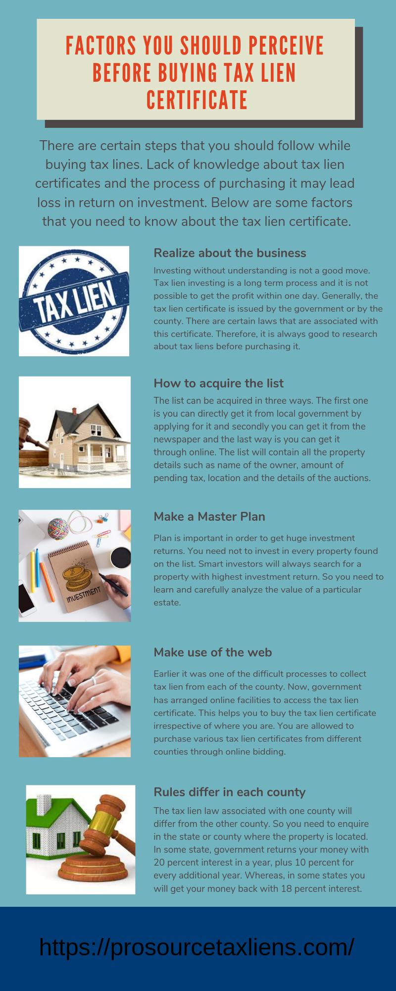 tax lien certificates