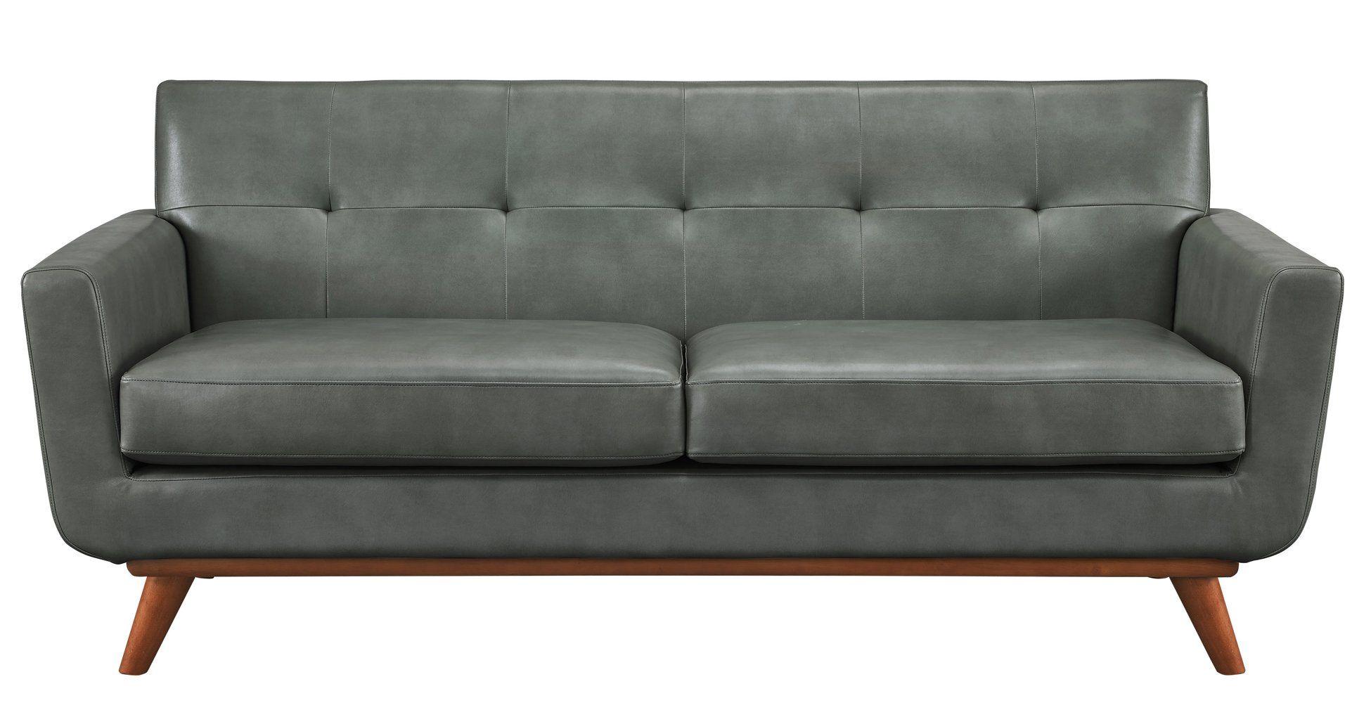 Lyon Smoke Grey Loveseat Danish Modern Pinterest Sofa