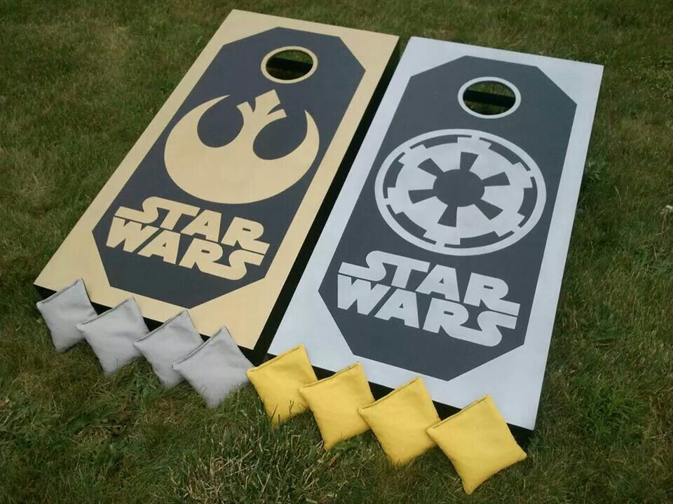 star wars cornhole set by 1daysale custom cornhole boards - Custom Corn Hole Boards