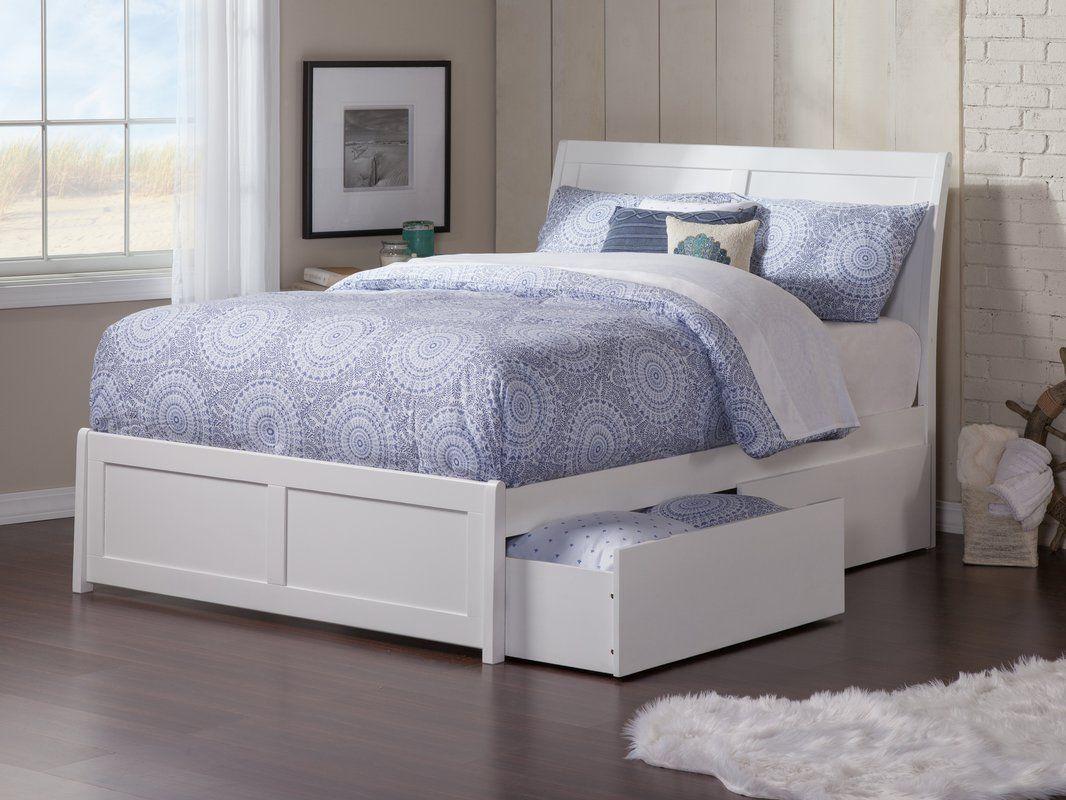 Harriet Bee Quitaque Storage Platform Bed Reviews Wayfair Full Platform Bed Trundle Bed Bed With Drawers