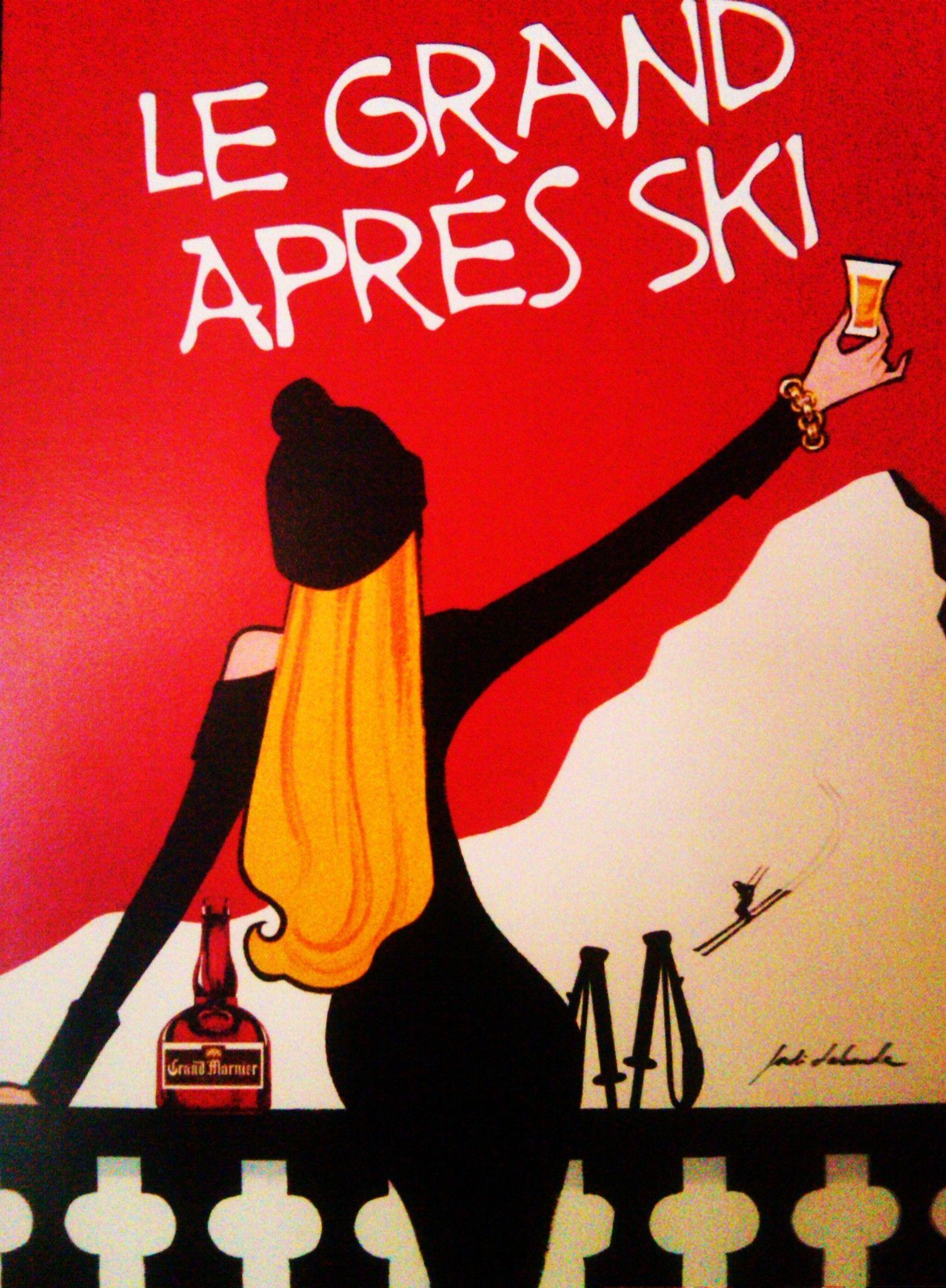 le grand après ski | Ski, Après ski, Ski vintage