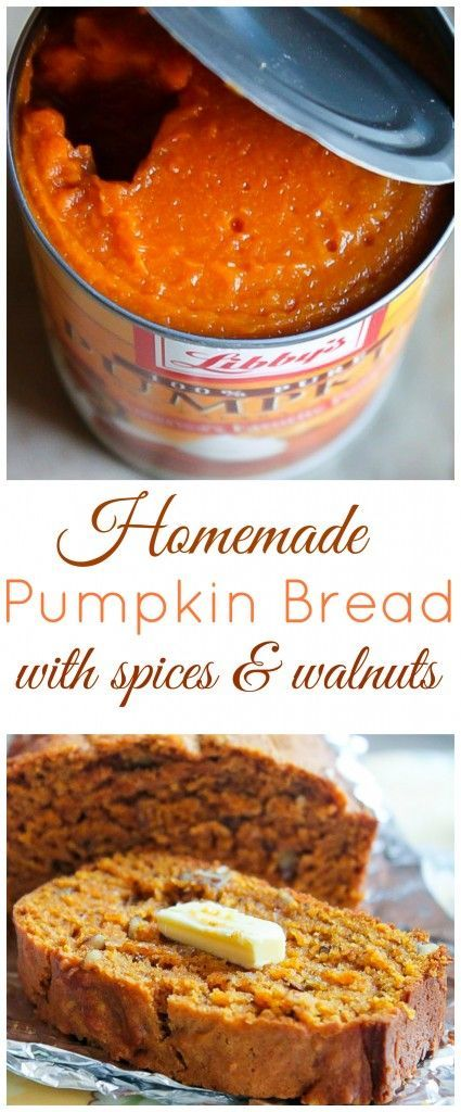 Spiced Pumpkin Bread With Walnuts Baker By Nature