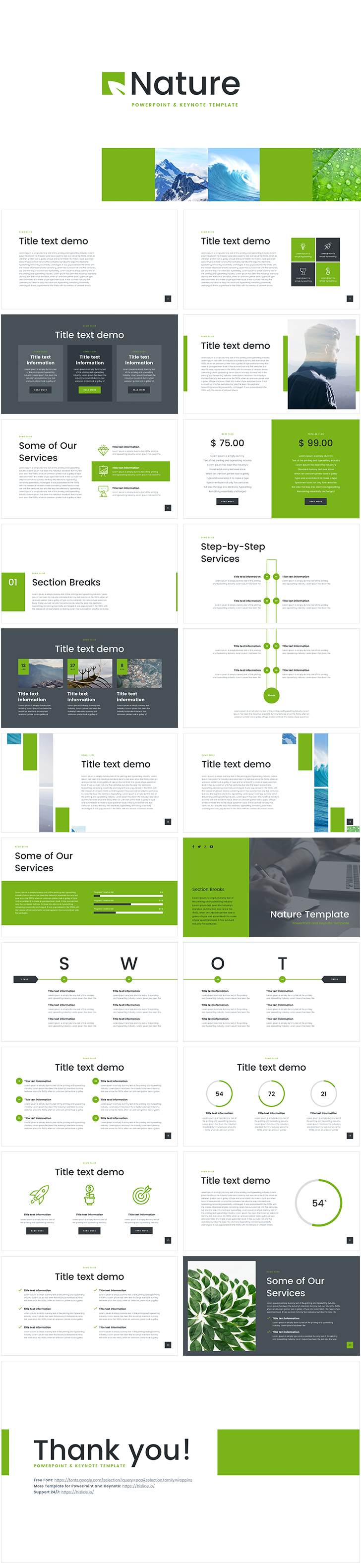 """download free new """"nature"""" template for powerpoint .ppt and, Powerpoint templates"""
