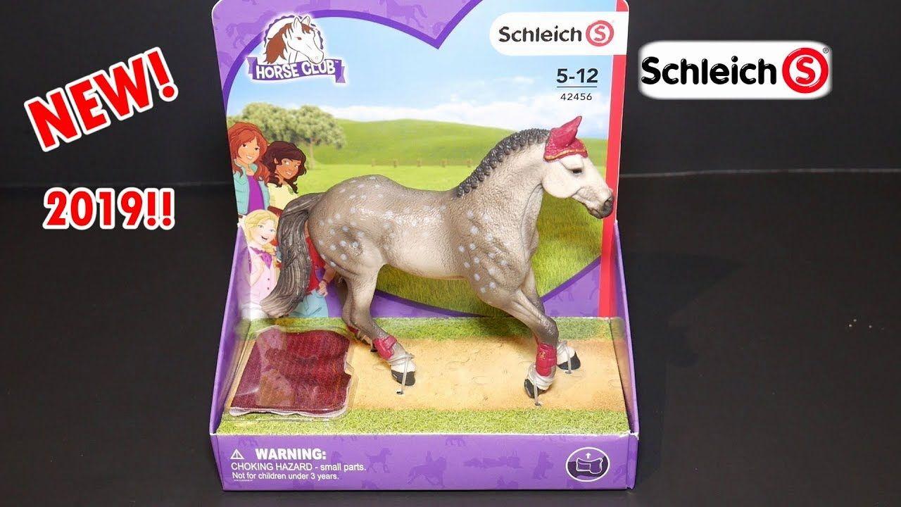 Schleich 42456 Trakehner Mare Riding Tournament Schleich Horses 2019 Trakehner Schleich Horses