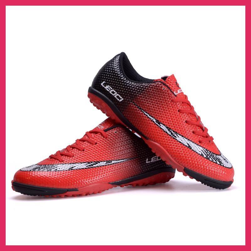 Men tf soccer shoes sport football shoes kids boys indoor