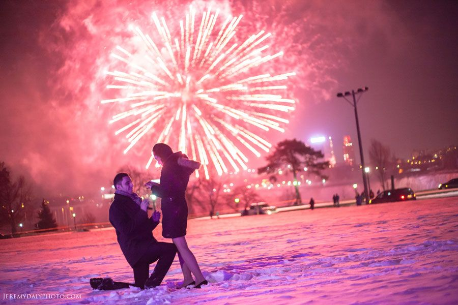Niagara Falls Proposal Photography By KW Wedding Photographer Jeremy Daly More Are