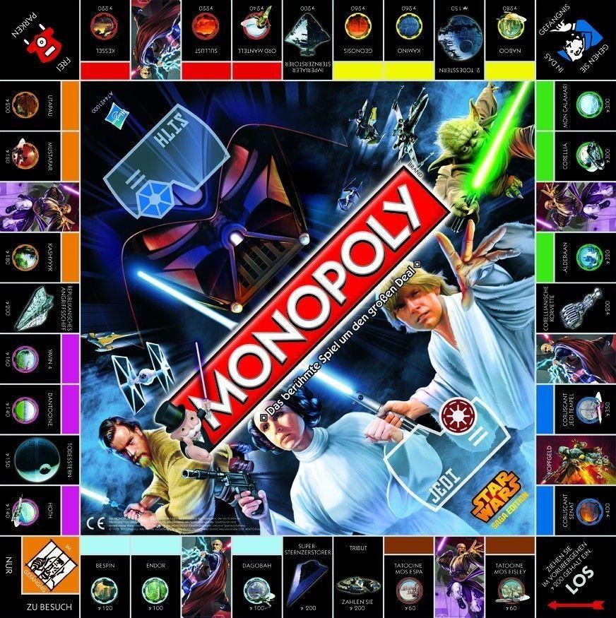 Star Wars Brettspiel Monopoly *Deutsche Version* Film- & TV-Spielzeug