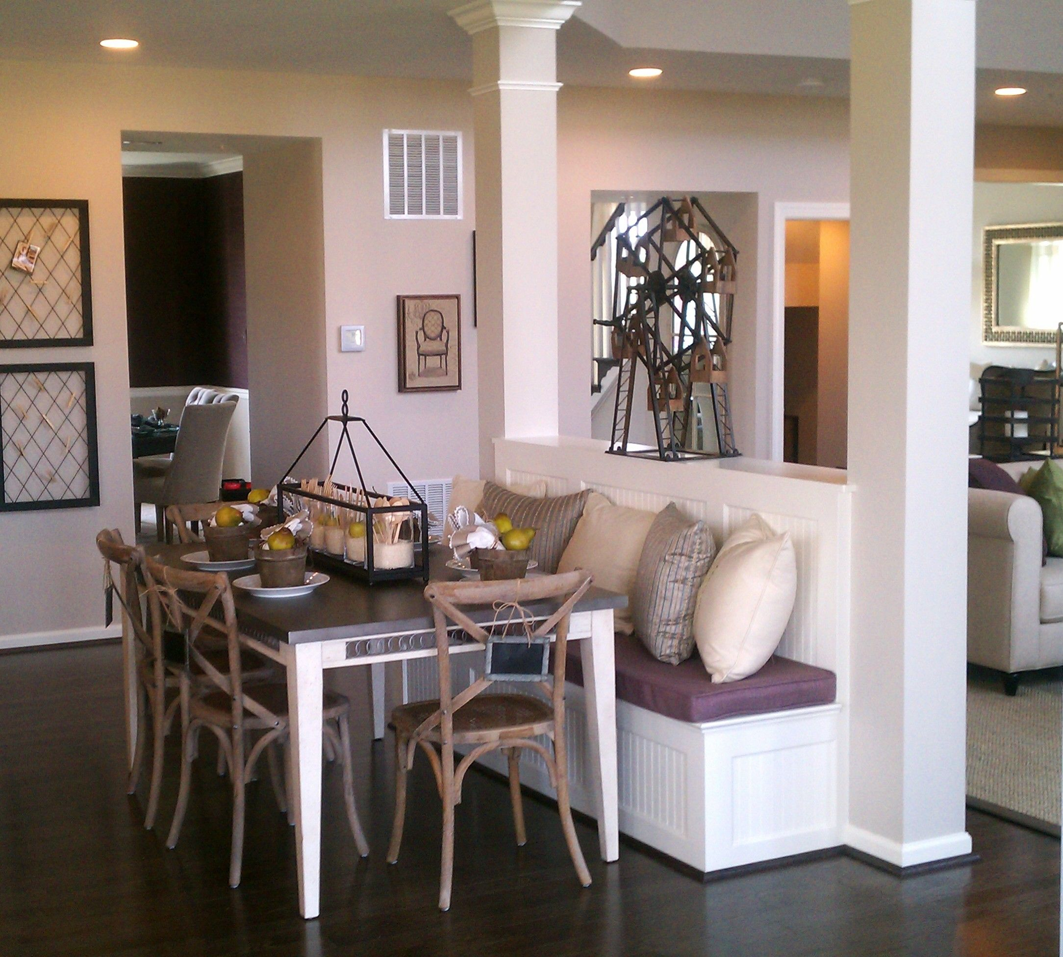 Wall Formal Dining Room And Living