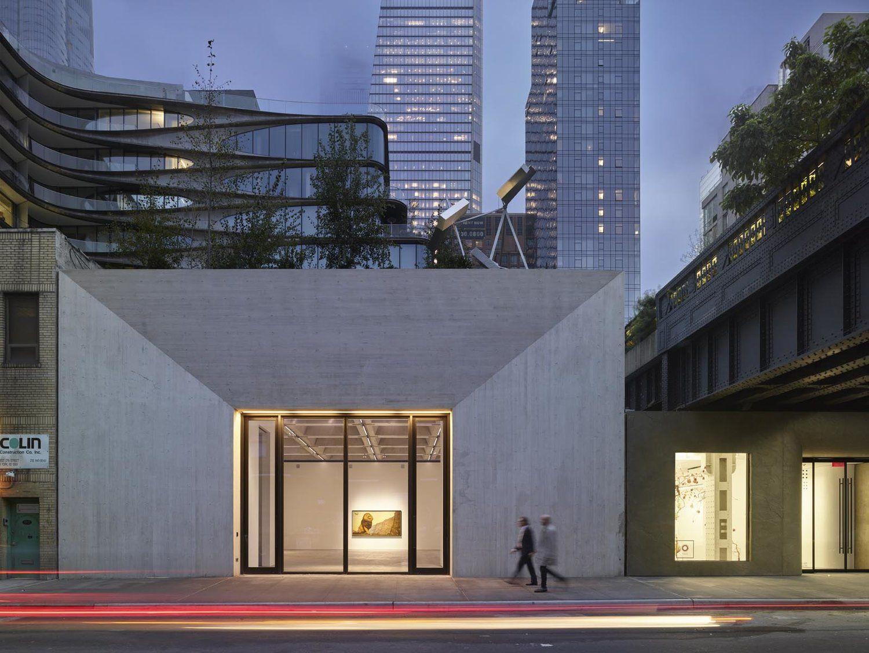 New York Chelsea De Yer Alan Kasmin Gallery Nin Mimari Tasarimi