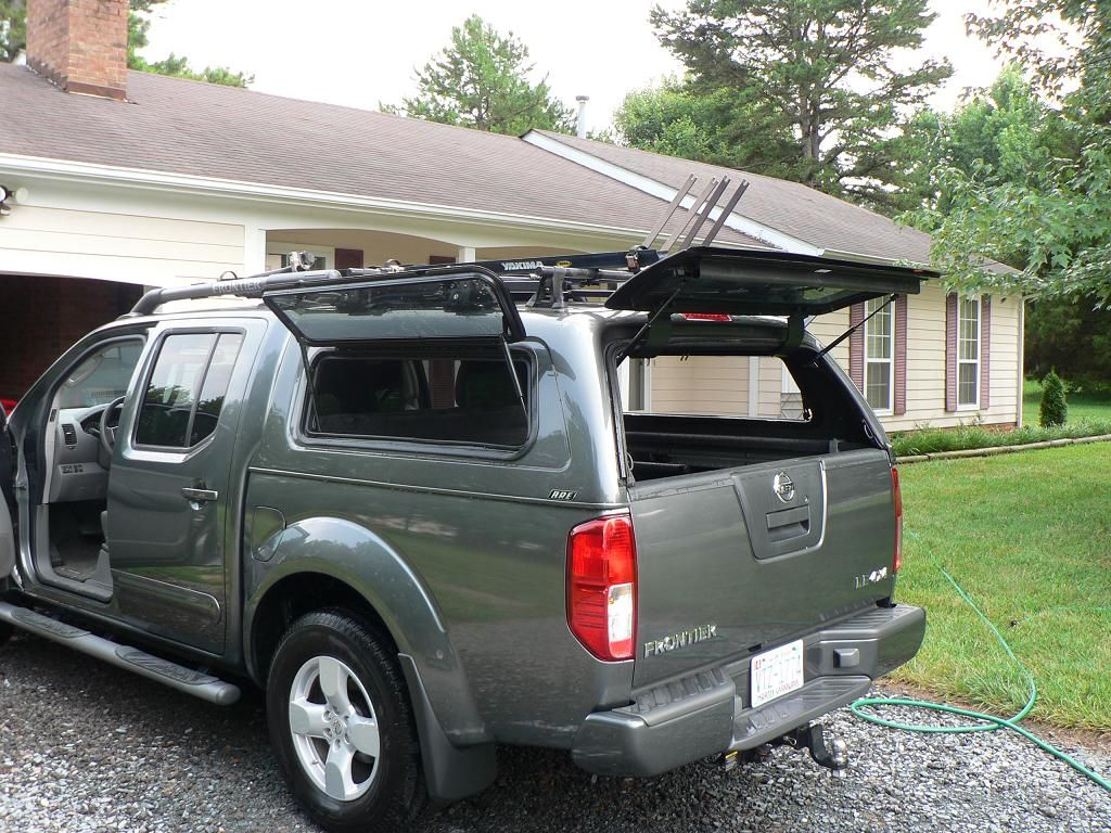 2014 lifted nissan frontier shell cap google search