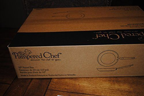 "Pampered Chef 10"" Saute Pan Executive Cookware"