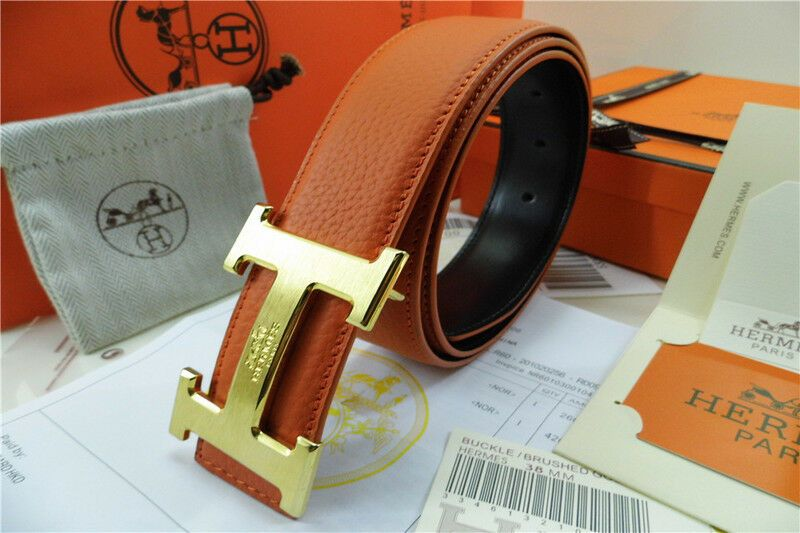 "Hot sell Fashion Mens Belts Genuine Leather Waist Belt Waistband /""H/"" Buckle"