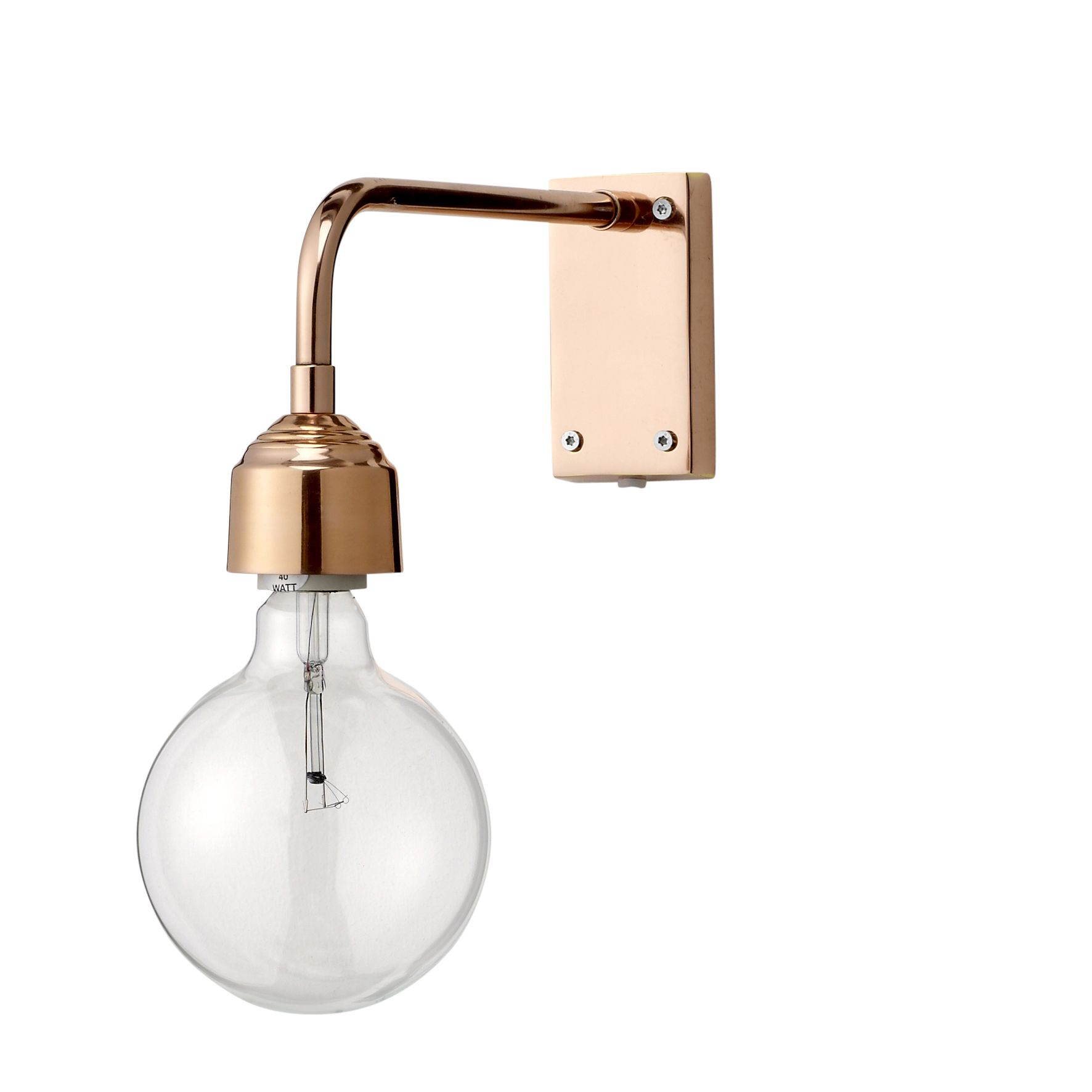 Bloomingville wall lamp barefootstyling.com Badezimmer ...