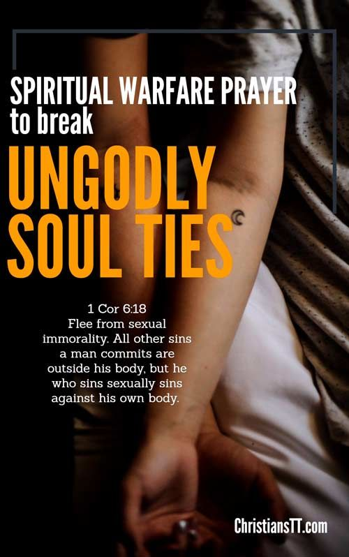 Spiritual Warfare Prayer to Break Ungodly Soul Ties | DAILY PRAYER