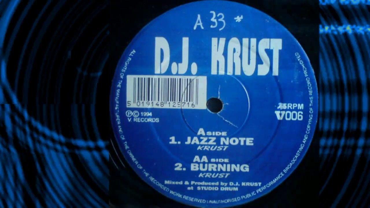 DJ Krust - Jazz Note | 90s DRUM and BASS