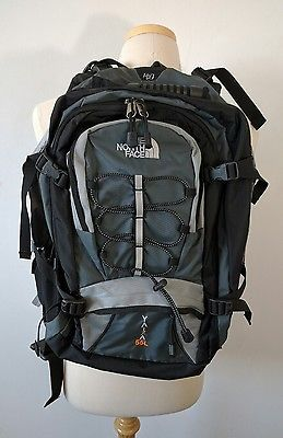 3069cad920 The North Face Yaiza 55L Hiking Backpack Unisex Grey Black