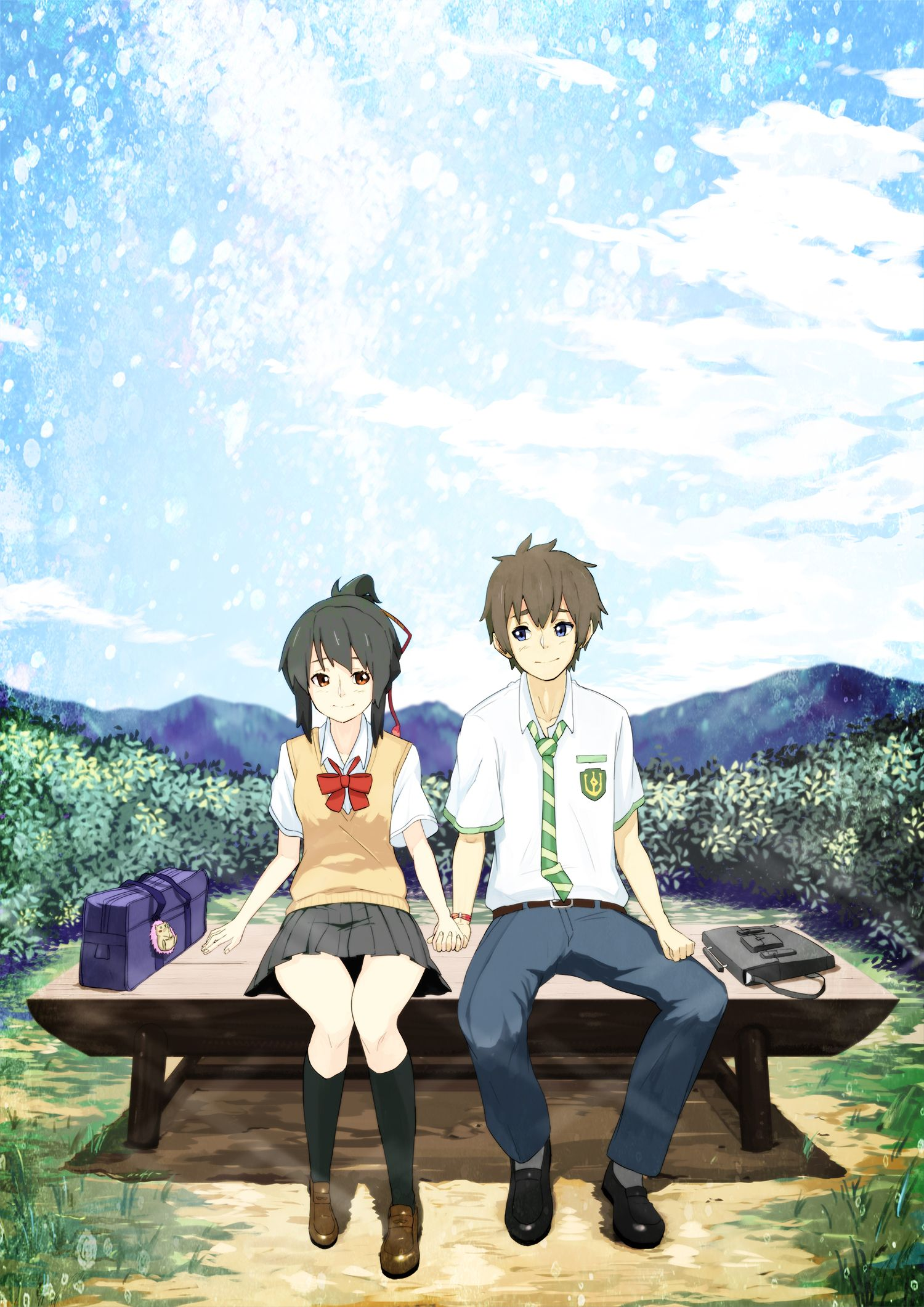 Kimi no nawa Kimi no nawa(your name) Pinterest Anime