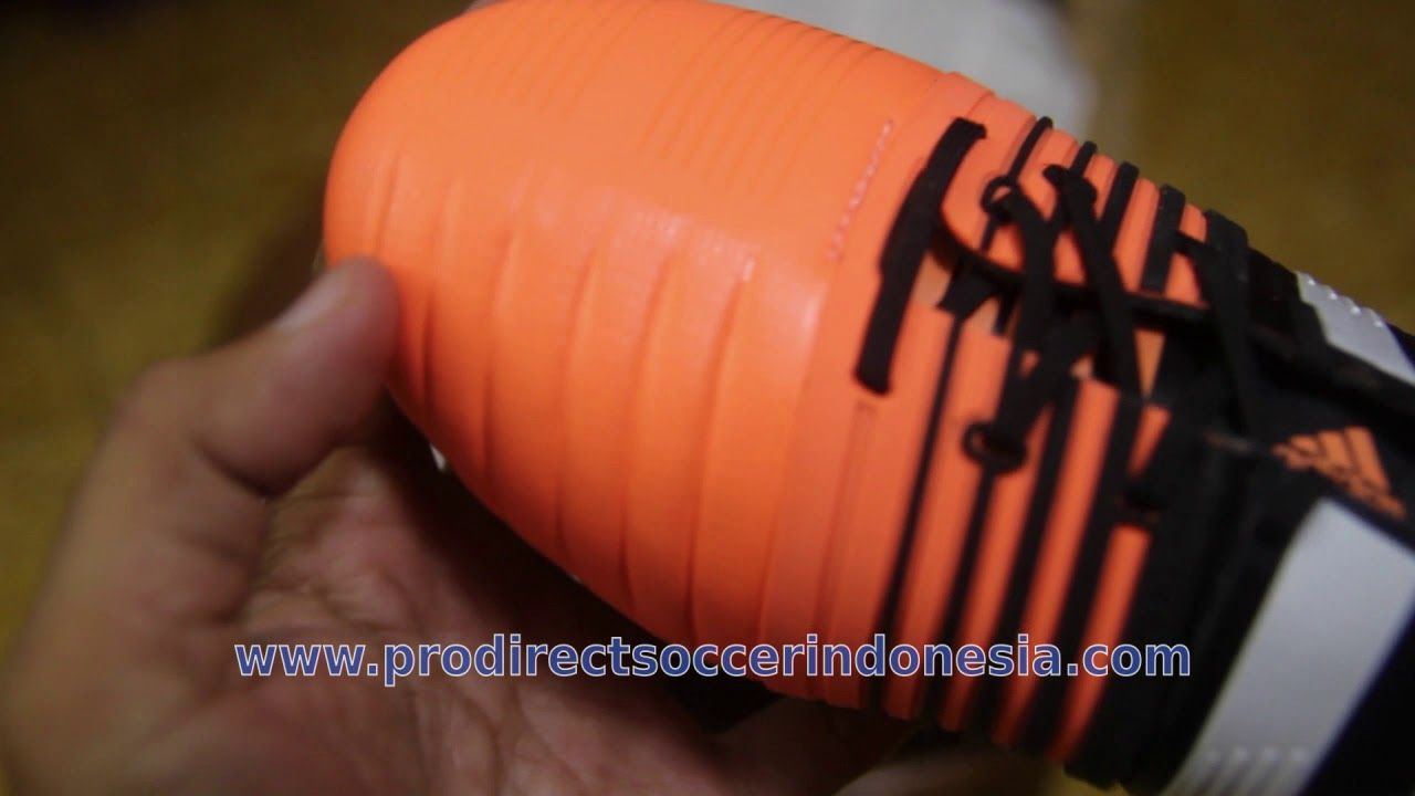 Sepatu Adidas Nitrocharge 1 0 Fg Core Black White Flash Orange