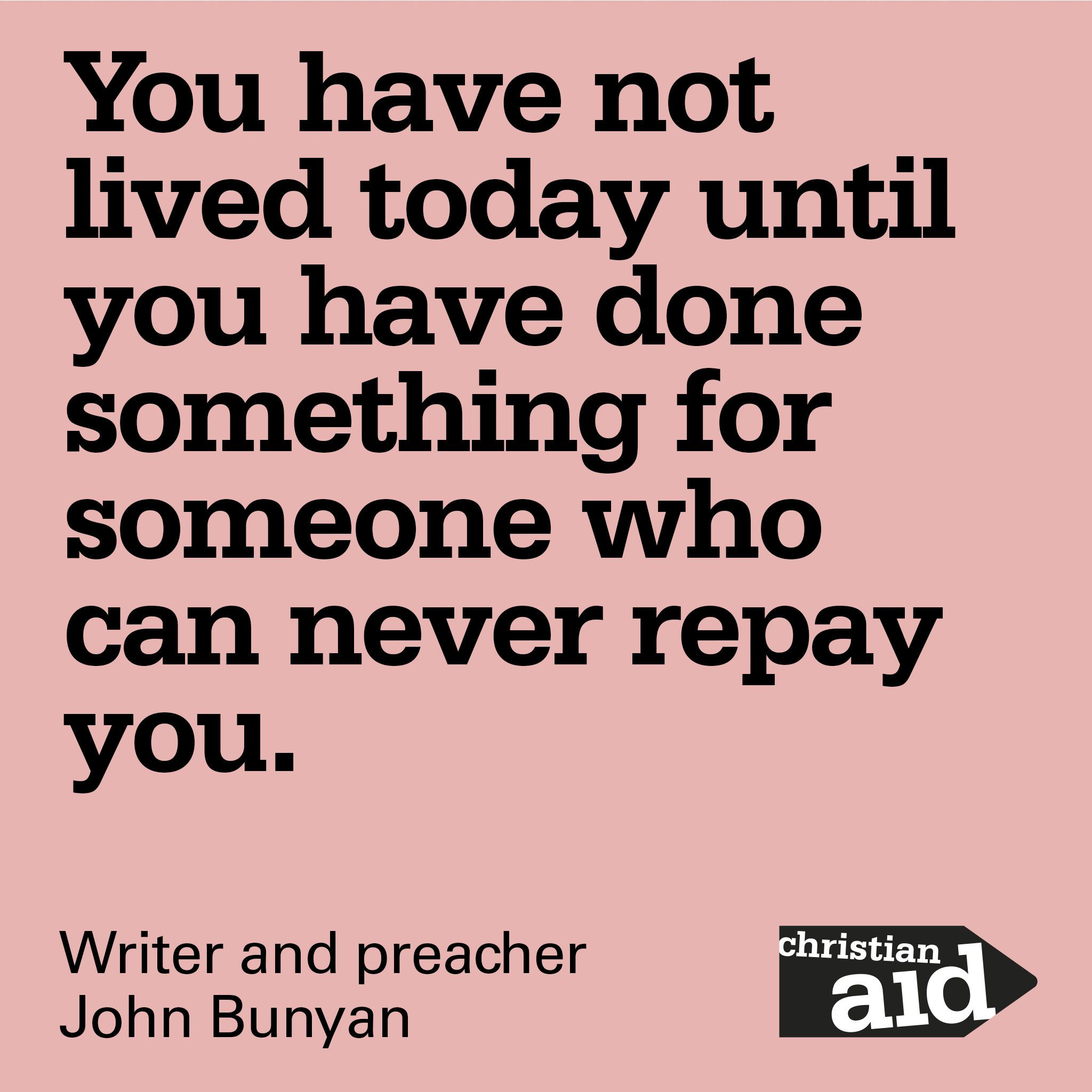 Wonder Book Quotes: Pin By Christian Aid On Inspirational Quotes