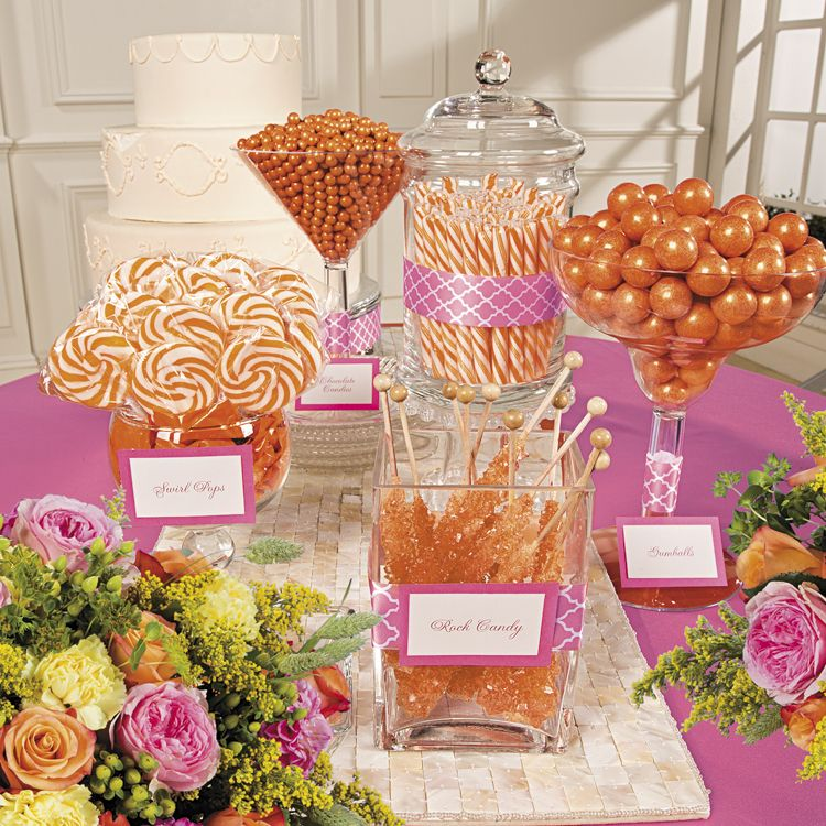 Create a candy buffet in your favorite colors i dont like the create a candy buffet in your favorite colors i dont like the while candy bar idea but for decorations id consider watchthetrailerfo