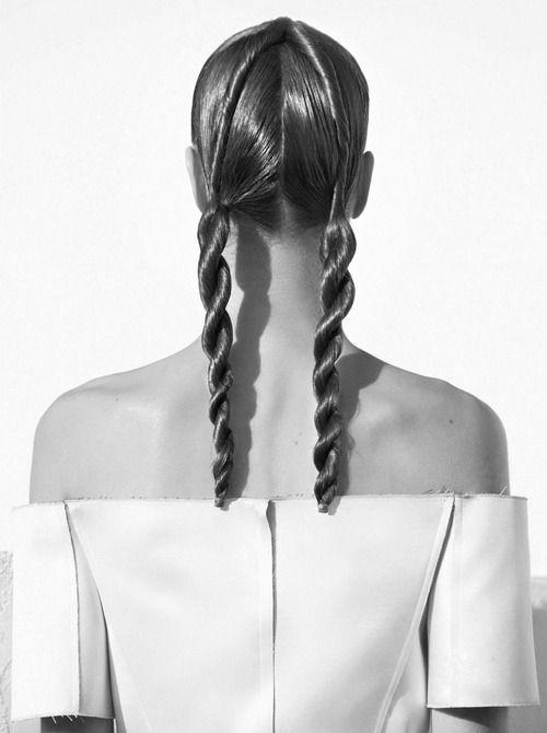 Julia Noni For Vogue Nippon アップスタイル ヘアーデザイン