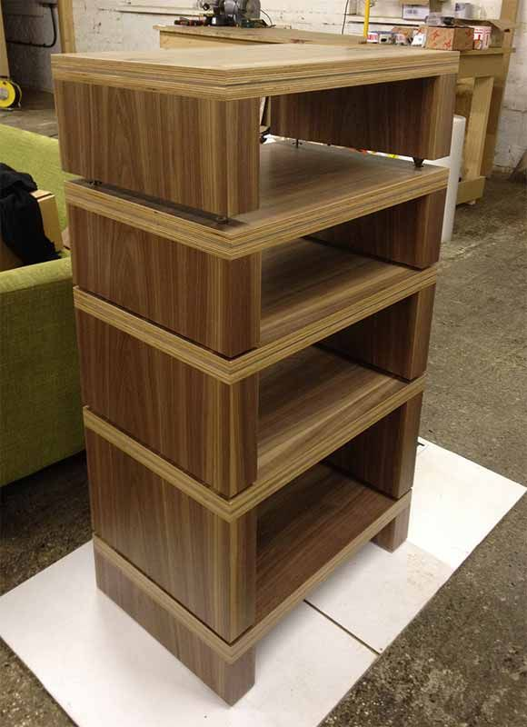 wood audiophile shelves design google search audio rack project pinterest shelf design. Black Bedroom Furniture Sets. Home Design Ideas