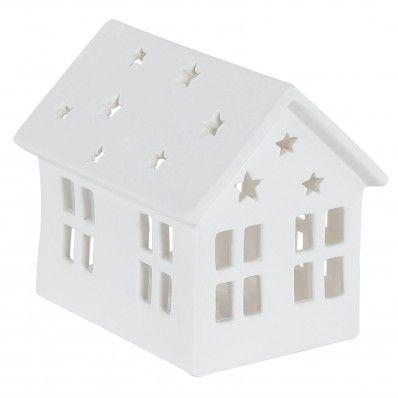 Lanterne Maison petit modèle Blanc Céramique : Jardin d\'Ulysse - 17 ...