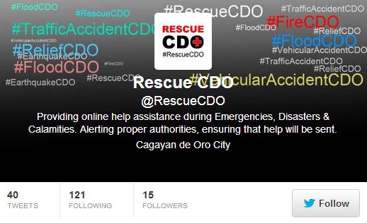 rescue cdo launches social media help line