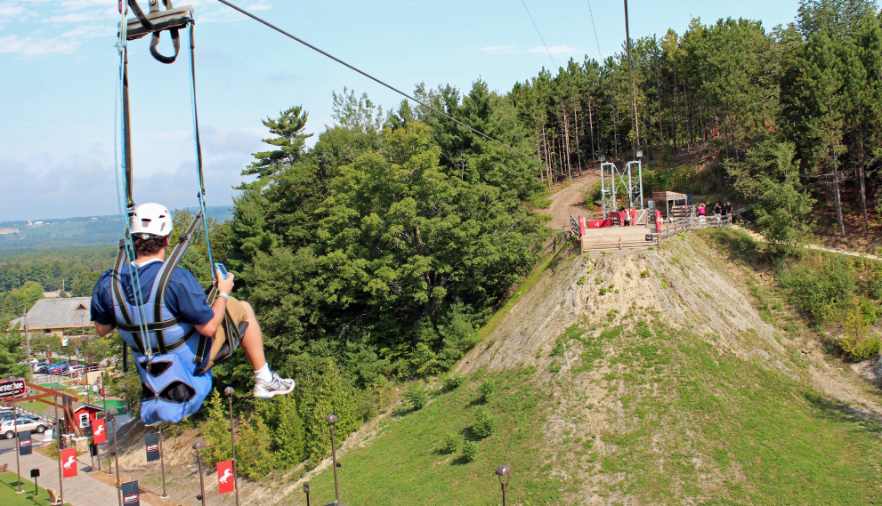 7 Thrilling Zip Lines You Need To Try At Least Once In Ontario Ziplining Adventure Park Zip Line Ride